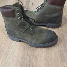 Bocanci barbat TIMBERLAND originali noi piele waterproof khaki vintage sz.42