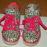 Ghete sport fetite - Nike leopard