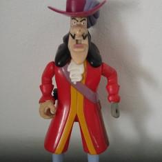 Figurina pirat din Peter Pan, McDonalds 20002, 15 cm, plastic - Figurina Povesti