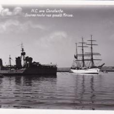 CONSTANTA, SOSIREA NOULUI VAS SCOALA MIRCEA, CIRCULATA 1940 - Carte Postala Dobrogea dupa 1918, Fotografie