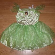 Costum carnaval serbare tinkerbell pentru copii de 4-5-6 ani