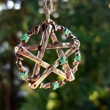 Pandantiv talisman Pentagrama lui Pan - Pandantiv fashion