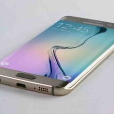 Samsung S6 Edge 32 GB Gold - Telefon Samsung, Auriu, Neblocat