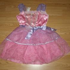 Costum carnaval serbare printesa barbie pentru copii de 4-5-6 ani