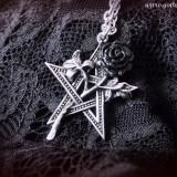 Pandantiv pentagramă Ruah Vered - Pandantiv fashion