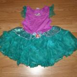 Costum carnaval serbare printesa ariel pentru copii de 4-5-6 ani - Costum Halloween, Marime: Masura unica, Culoare: Din imagine