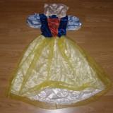 Costum carnaval serbare alba ca zapada pentru copii de 4-5-6 ani marime M - Costum copii, Marime: Masura unica, Culoare: Din imagine