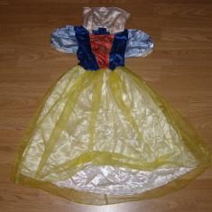 Costum carnaval serbare alba ca zapada pentru copii de 4-5-6 ani marime M