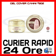 GEL UV COVER CANNI THIN PINK #302, 15 ML  - CONSTRUCTIE MANICHIURA, UNGHII UV