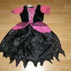 Costum carnaval serbare printesa vrajitoare pentru copii de 3-4 ani