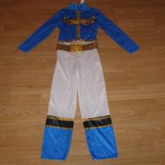Costum carnaval serbare power rangers ninja pentru copii de 5-6-7 ani