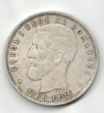 ROMANIA 5 LEI 1886-1906 STARE FOARTE BUNA