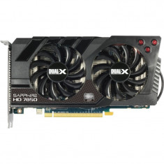 Placa video gaming Sapphire Radeon HD7850 2GB DDR5 256-bit HDMI DX11 - Placa video PC Sapphire, PCI Express, Ati