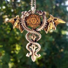 Pandantiv talisman Dragonii sacri - Pandantiv fashion