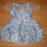 Costum carnaval serbare cenusareasa pentru copii de 2-3-4 ani - Costum Halloween, Marime: Masura unica, Culoare: Din imagine