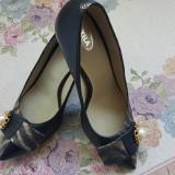Pantofi eleganti mar. 36 - Pantof dama, Culoare: Negru, Marime: 36.5
