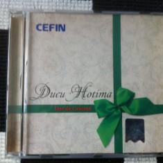 Ducu Hotima dar de craciun album cd disc muzica folk intercont music 2006