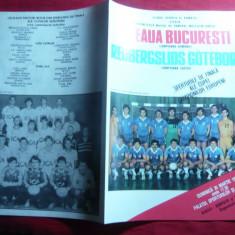 Program Meci Handbal Steaua Bucuresti- Redbergslids Goteborg Suedia 1886