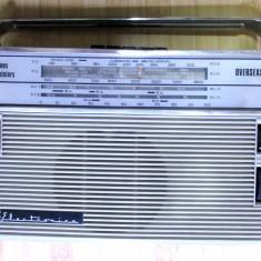 Radio vechi romanesc Electronica extrem de rar anii 60 Overseas pt export - Aparat radio