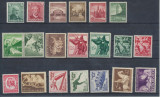 RFL anii 1930-40 GERMANIA Deutsches Reich lot 20 timbre neuzate cu sarniera, Nestampilat