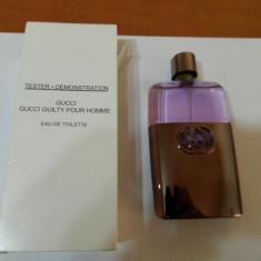 TESTER GUCCI GUILTY -- 90ML --SUPER PRET, SUPER CALITATE! - Parfum barbati Gucci, Apa de toaleta