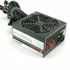 Sursa Thermaltake PSH 600V Toughpower 600W, 4 rail-uri de 12v/18a, garantie! - Sursa PC Thermaltake, 600 Watt