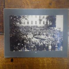 Fotografie Oravita, Sfintirea Clopotelor 1927 - Harta Europei
