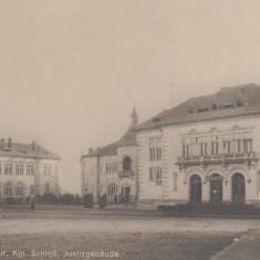CONSTANTA, PREFECTURA, PALATUL DE JUSTITIE - Carte Postala Dobrogea dupa 1918, Necirculata, Printata