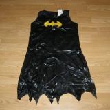 Costum carnaval serbare batman batgirl pentru copii de 8-9-10 ani marime L - Costum Halloween, Marime: Masura unica, Culoare: Din imagine