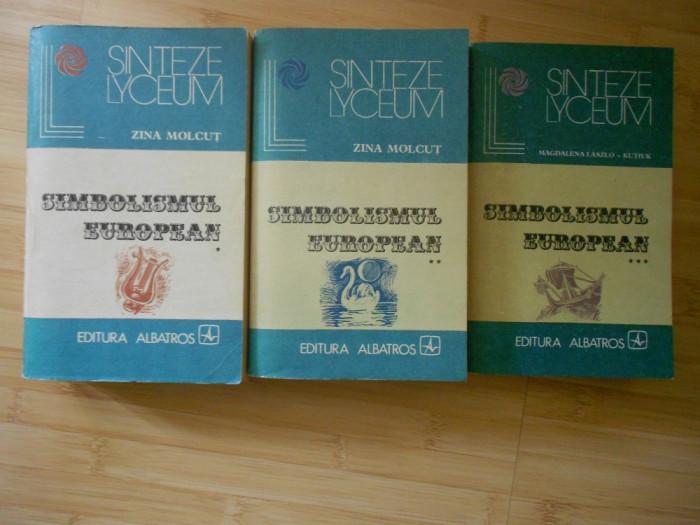 ZINA MOLCUT--SIMBOLISMUL EUROPEAN - 3 VOL. - 1983