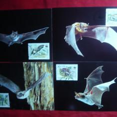 Set 4 Maxime - Fauna -Lilieci- 1989 Bulgaria