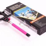 Suport telescopic pentru selfie, monopod / prelungitor wireless - Selfie stick