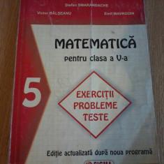 Matematica pentru clasa a v a. Exercitii, probleme, teste - Stefan Smarandache - Culegere Matematica
