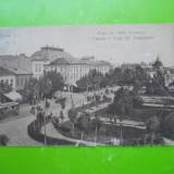 HOPCT 2 H BRAILA CENTRUL SI PIATA SF ARHANGHELI/OCUPATIE GERMANA WWI -CIRCULATA - Carte Postala Muntenia dupa 1918, Printata