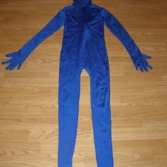 Costum carnaval serbare skin pentru copii de 11-12 ani marime L - Costum Halloween, Marime: Masura unica, Culoare: Din imagine