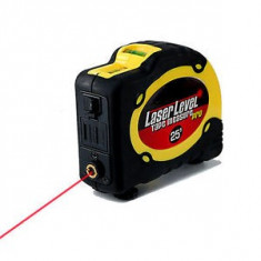 Boloboc Laser Level Tape Measure Pro cu Laser si Ruleta de 7, 5m