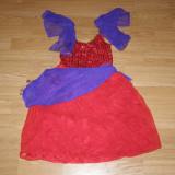 Costum carnaval serbare esmeralda pentru copii de 4-5-6 ani de la disney - Costum Halloween, Marime: Masura unica, Culoare: Din imagine