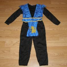 Costum carnaval serbare ninja pentru copii de 2-3 ani - Costum Halloween, Marime: Masura unica, Culoare: Din imagine
