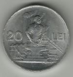 ROMANIA 20 LEI 1951 STARE AUNC RARA!!!