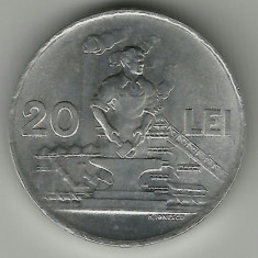 ROMANIA 20 LEI 1951 STARE AUNC RARA!!! - Moneda Romania