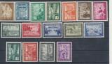 RFL anii 1940 GERMANIA Deutsches Reich lot 16 timbre neuzate propaganda razboi, Nestampilat