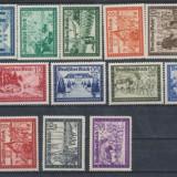 RFL anii 1940 GERMANIA Deutsches Reich lot 16 timbre neuzate propaganda razboi