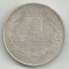 ROMANIA 250 LEI 1941 TOTUL PENTRU TARA STARE XF - Moneda Romania