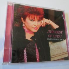 RAR! CD AURA URZICEANU ALBUMUL THE BEST OF AURA 2005, COMPULATION CD VOL.1 - Muzica Jazz Altele