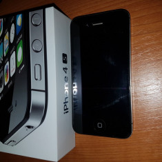 iPhone 4s Apple Negru, 8GB, Orange
