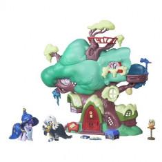 Set de Joaca My Little Pony Twilight Sparkle si Libraria din Copac - Figurina Povesti Hasbro