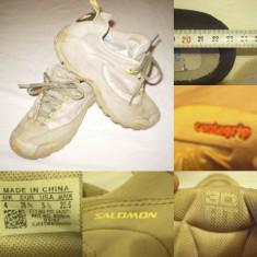Ghete SALOMON (36 / 23 cm) copii pantofi sport alergare munte bocanci adidas - Ghete copii, Culoare: Din imagine