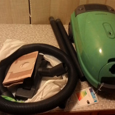 Aspirator cu sac Panasonic MC-E736, impecabil, 1200W, silentios, fab. in Spania - Aspiratoare cu Sac