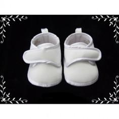 Botosei Soft Touch satin alb baieti fetite 0-3 | 3-6 | 6-12 luni - botosi bebe - Botosi copii, Marime: Alta