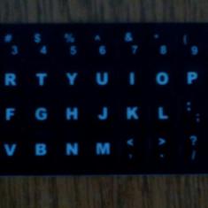 Set litere autocolante pentru tastatura laptop